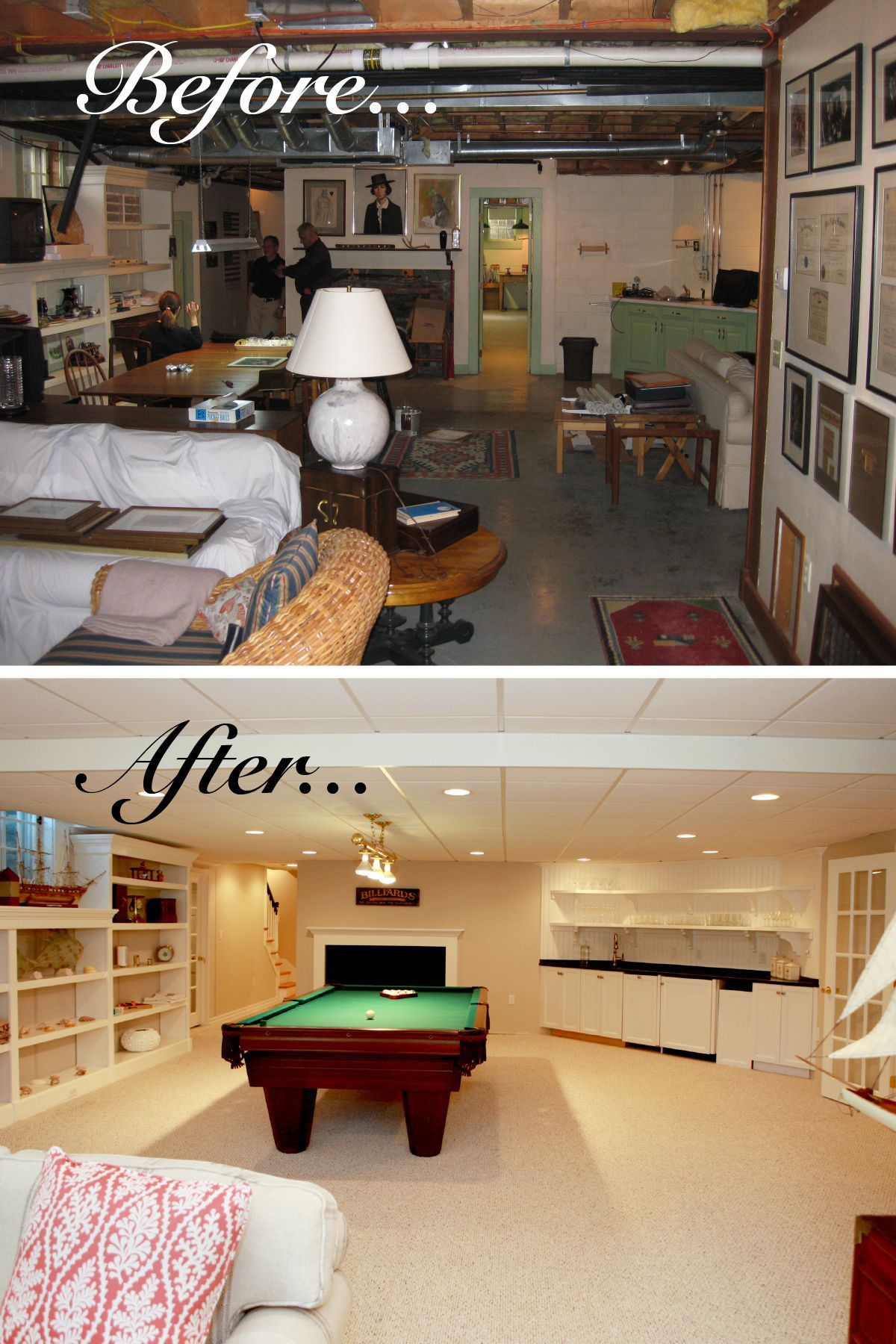 13+ Basement remodel ideas before and after info