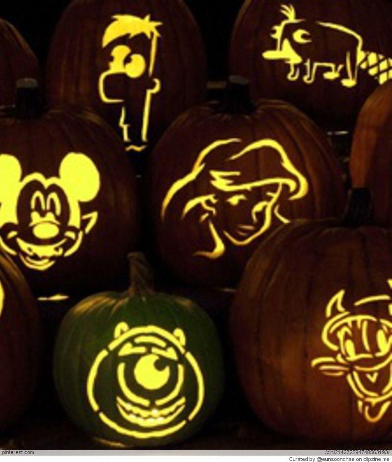 Disney Pumpkin Carving Ideas | Halloween | Pinterest | Disney ...