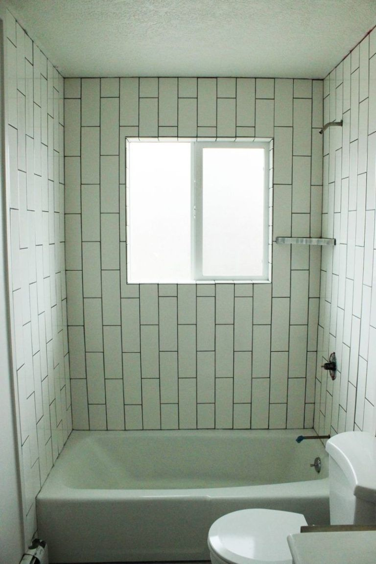 How To Tile A Shower Tub Surround Part 1 Laying The Tile Bathroom Tile Diy Bathroom Shower Walls Tub Surround