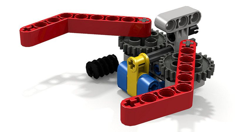Simple Lego Grabber Claw/Gripper | Lego and Lego mindstorms