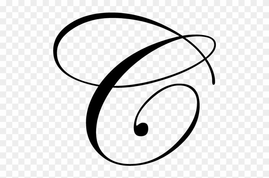 Download Hd Fancy Cursive Alphabet Letters Letra C Mayuscula Cursiva Clipart And Use The Free Hand Lettering Alphabet Graffiti Lettering Fonts Fancy Cursive