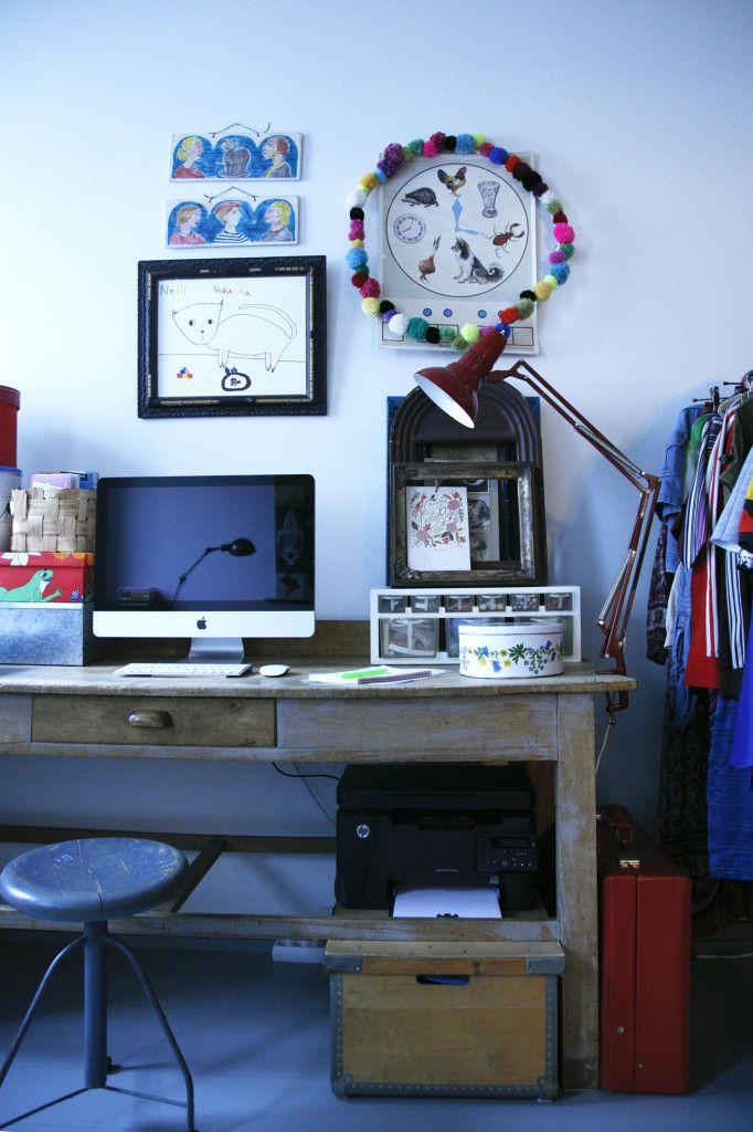Tekijänsä näköinen työhuone
