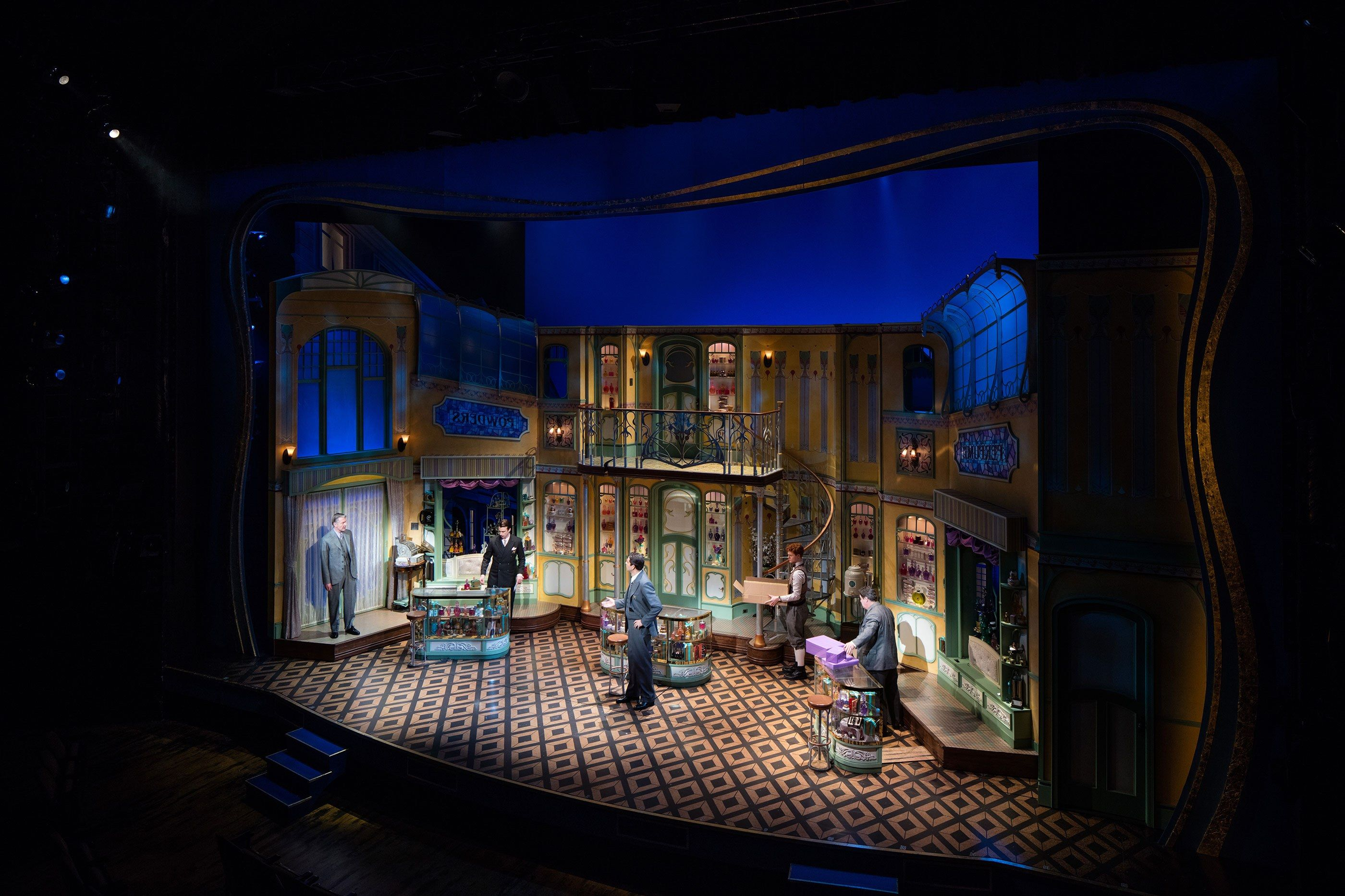 Behind the Design of the Hit Broadway Show She Loves Me Photos | Architectural Digest