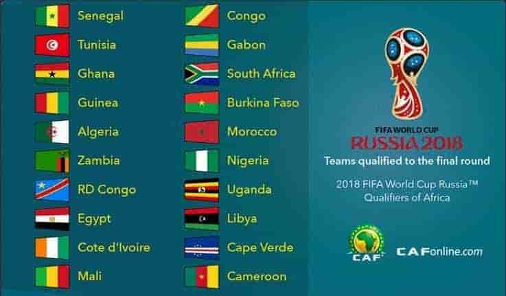 2018 Fifa World Cup Qualification Caf Schedule Online Stream Ghana South Africa Fifa Fifa World Cup