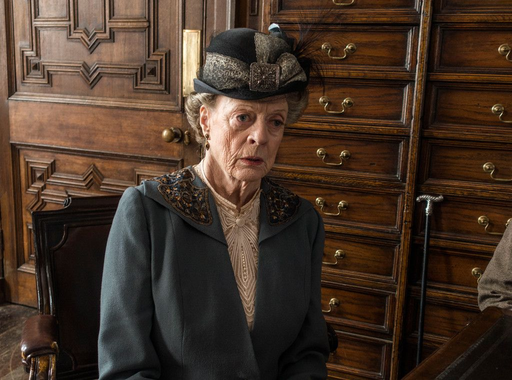 Why Maggie Smith Got The Last Downton Abbey Line Downton Abbey Downton Abbey Series Downton