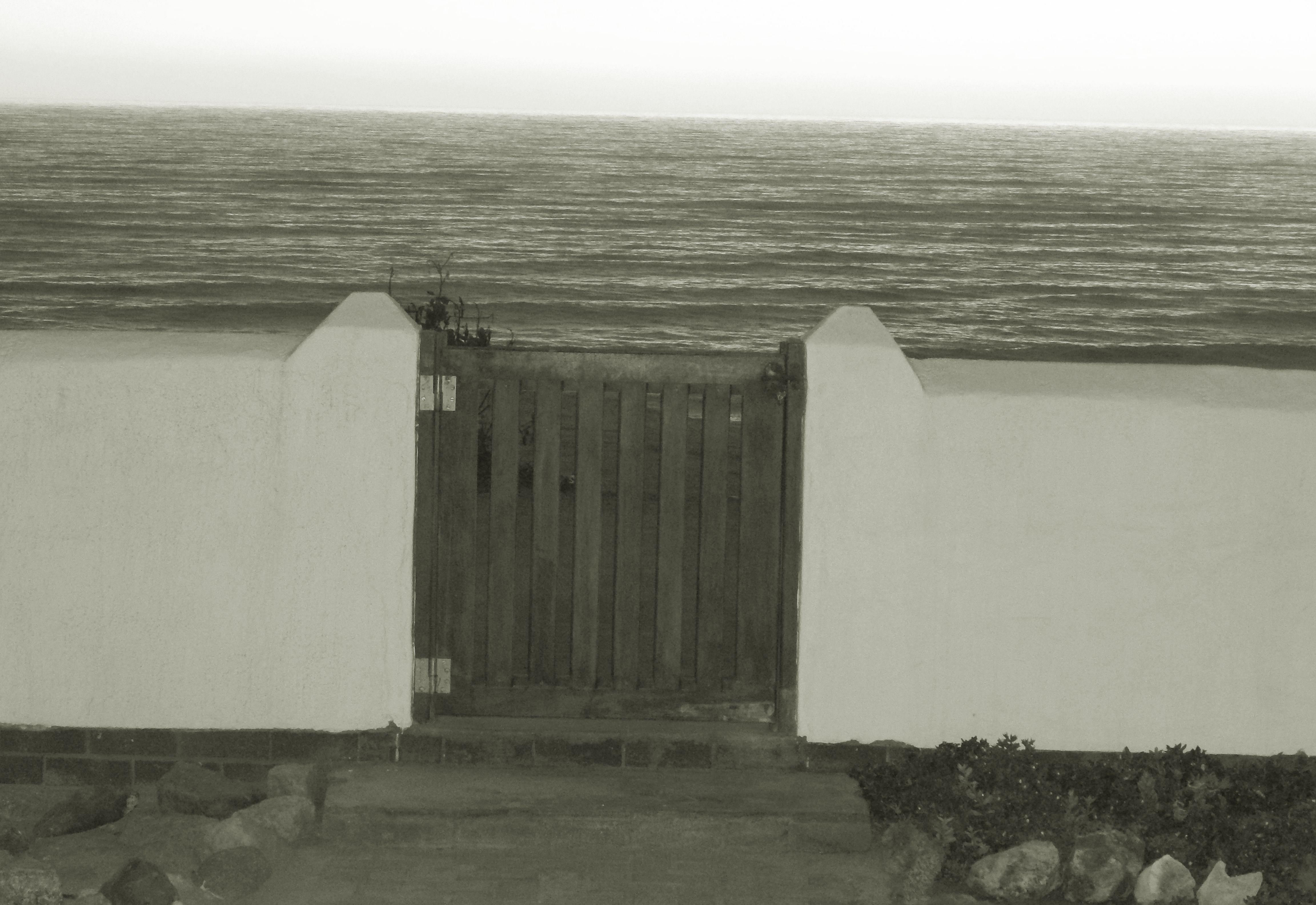 Garden Gate - B&W