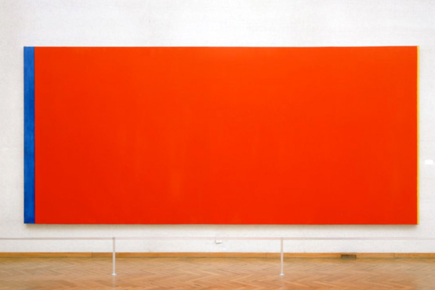 Barnett Newman: Who is Afraid of Red, Yellow and Blue