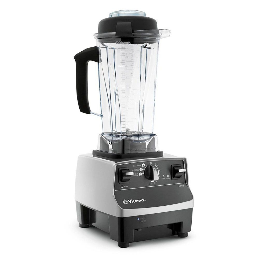 The Vitamix 1891 Blender Platinum With three pre-programmed settings for Smoothies, Hot Soups, & Frozen Desserts, automatically process whole-food recipes.