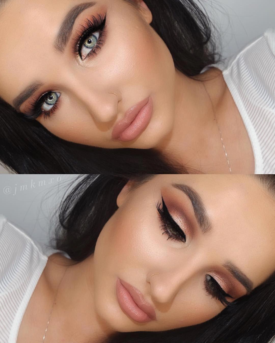 makeuplooksforbrowneyes Natural eye makeup, Attractive