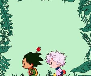 Gon Freecs Killua Zoldyck Hunter x Hunter cute