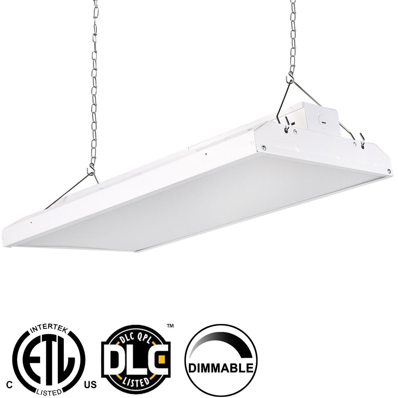 Hykolity 2\' LED Linear High Bay Shop Light Fixture 110W [400W ...
