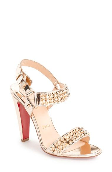 Christian Louboutin  Bikee Bike  Studded Sandal (Women) available at   Nordstrom 7f97b1d8f