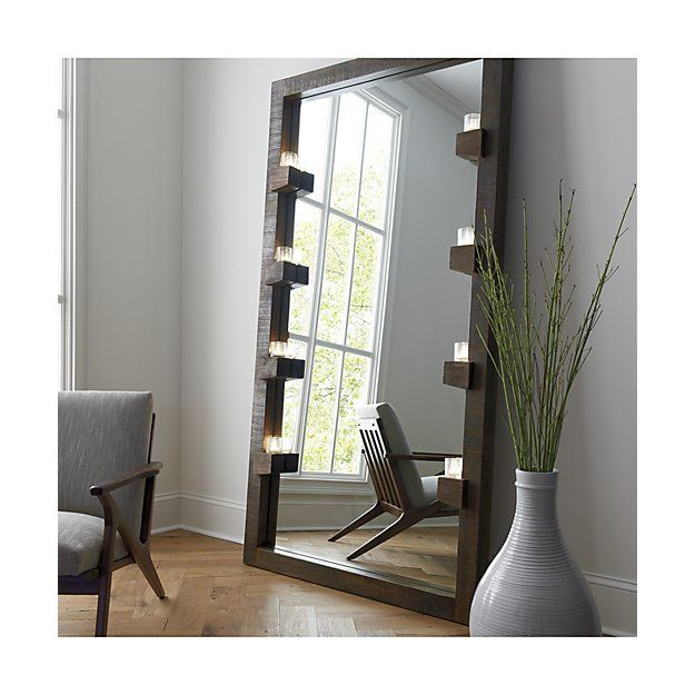 Stilt Floor Mirror Reviews Crate And Barrel Living Room Mirrors Floor Mirror Living Decor