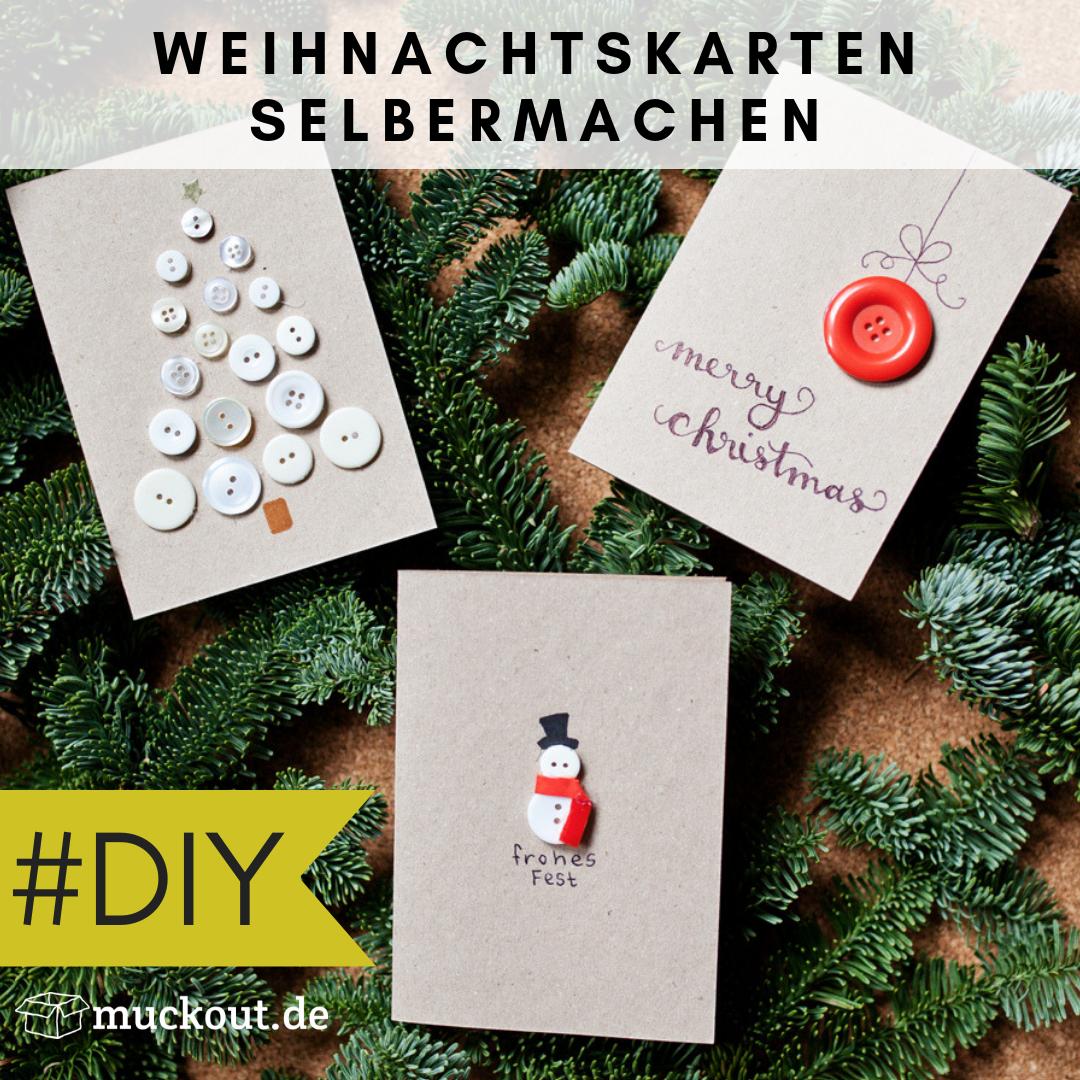 Weihnachtskarten Selbst Gestalten Foto.Diy Idee Weihnachtskarten Selbst Gestalten Diy Karten