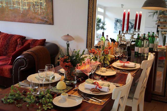 StadtLandLebenslust: Herbstliche Tischdeko