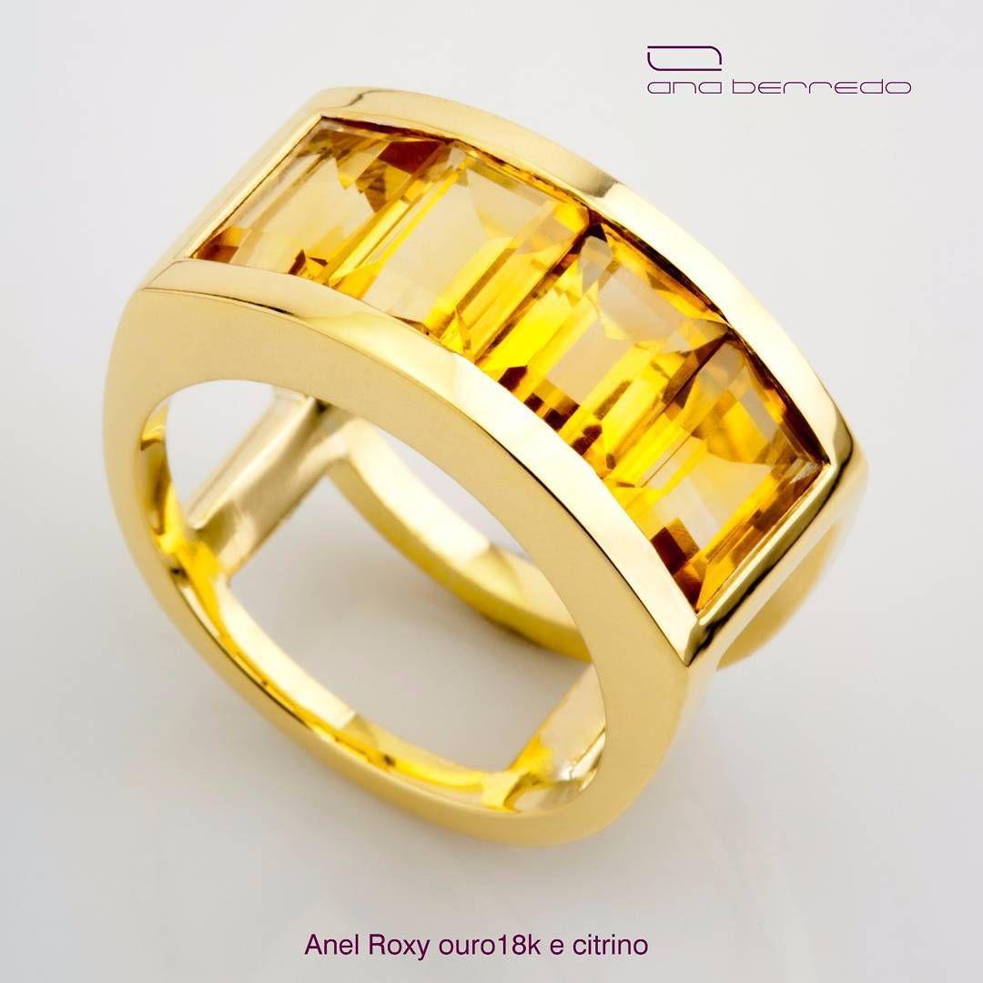 72a4b9615ea1c Anel Roxy. Uma joia em ouro 18k