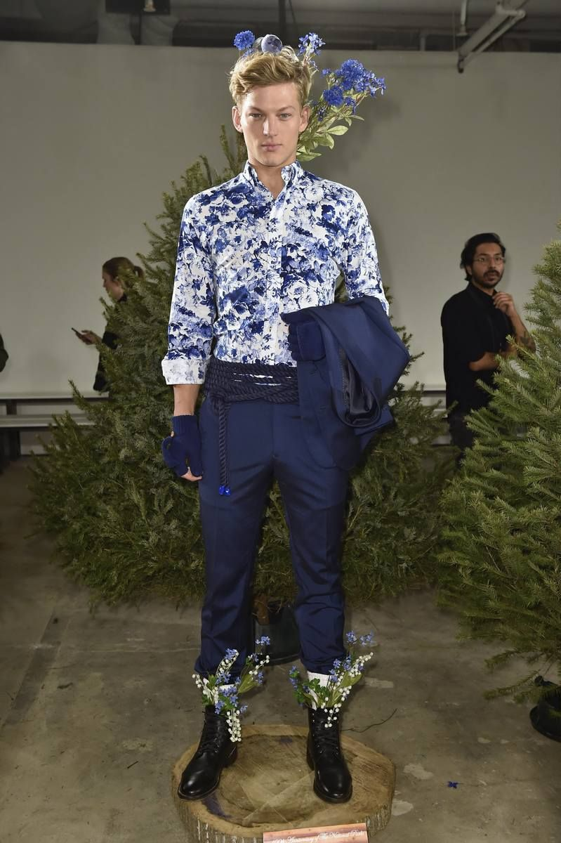 Nick Graham Fall/Winter 2016/17 - New York Fashion Week Men's