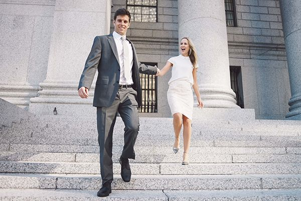 7 Tips For Planning A Small Courthouse Wedding: City Hall Wedding In New York City
