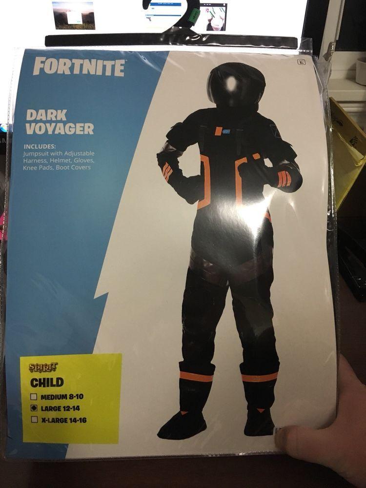 Fortnite Dark Voyager Kids Large Spirit Halloween Costume Fortnite