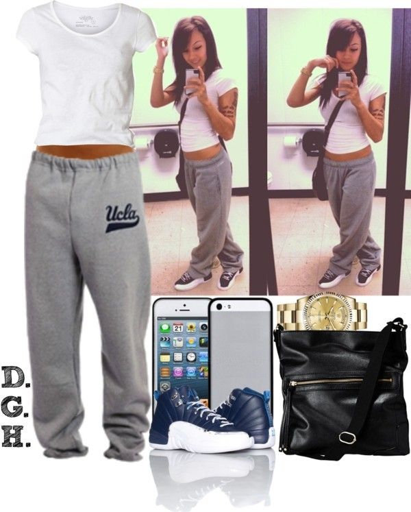 nike air jordan all day everyday sweatpants outfit