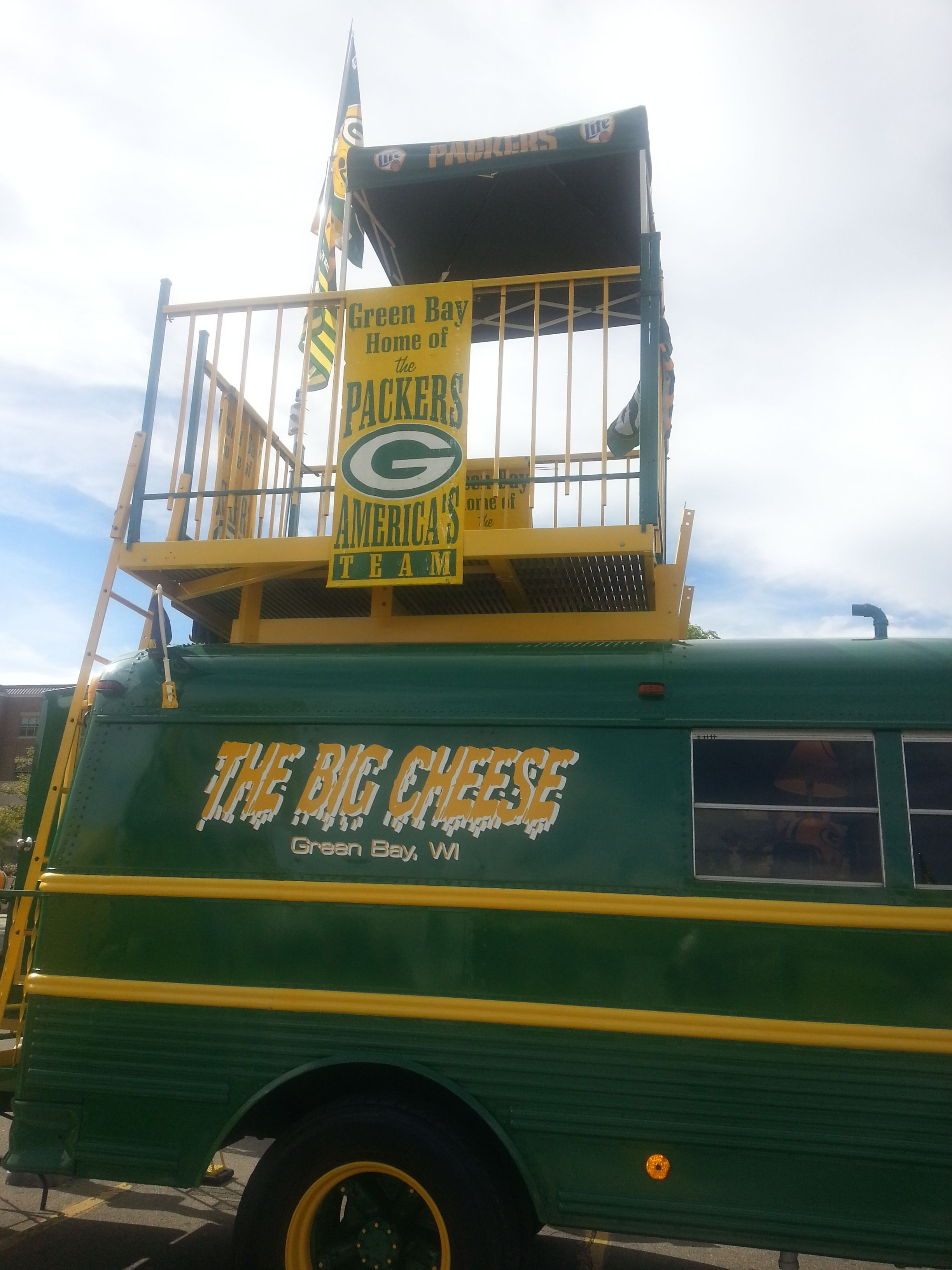 nice wheels | Green Bay Packers | Pinterest
