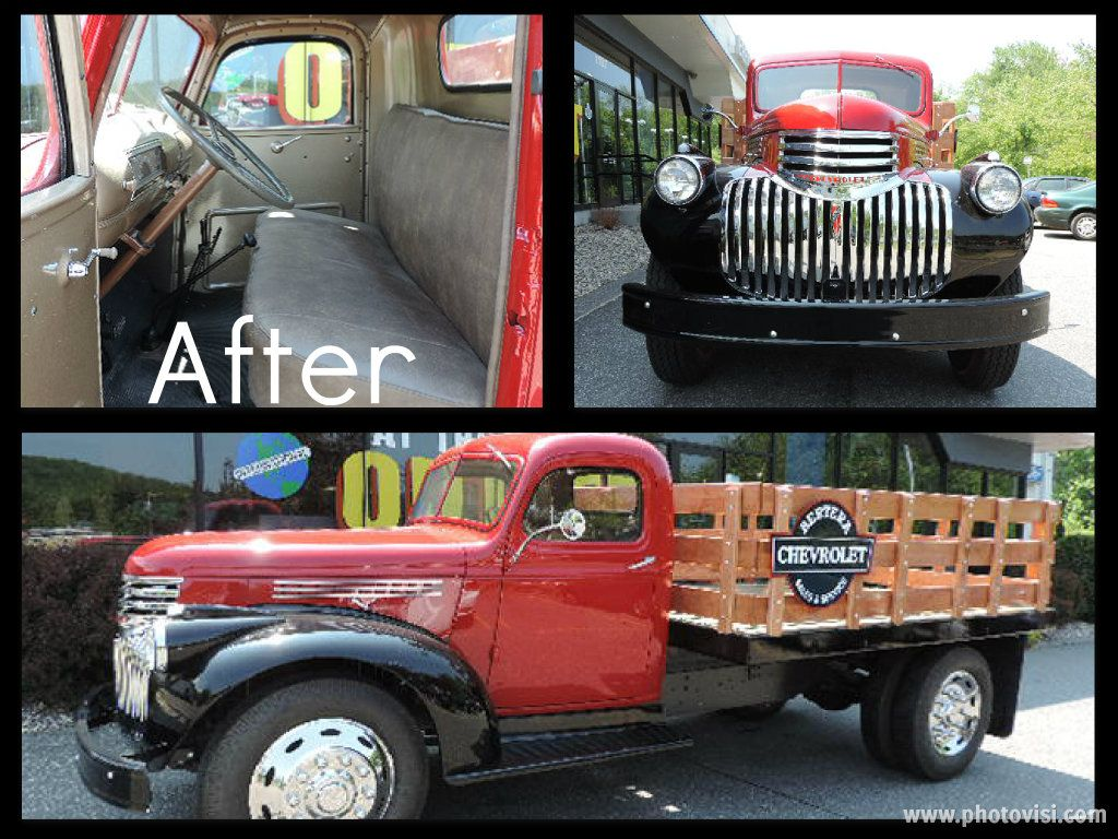 1946 Chevy Flat Bed restoration project | Hot Cars | Chevy ...