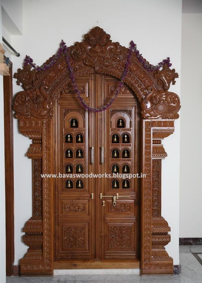 Pooja Room Door Designs Looking To Obtain Ideas Regarding Wood Working
