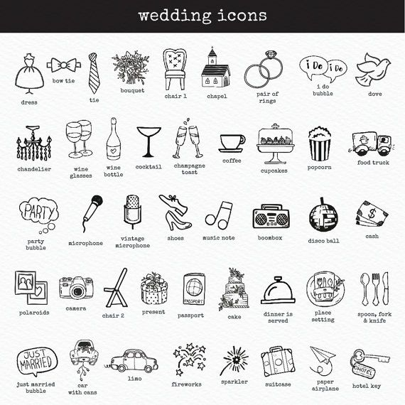 Personalized Wedding Timeline PRINTABLE By