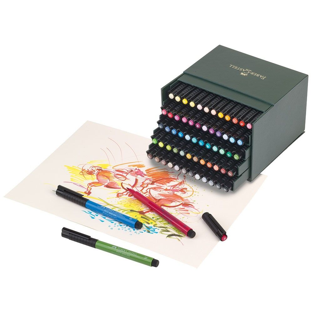 Faber Castell Pitt Artist Brush Pens Making Quality Products