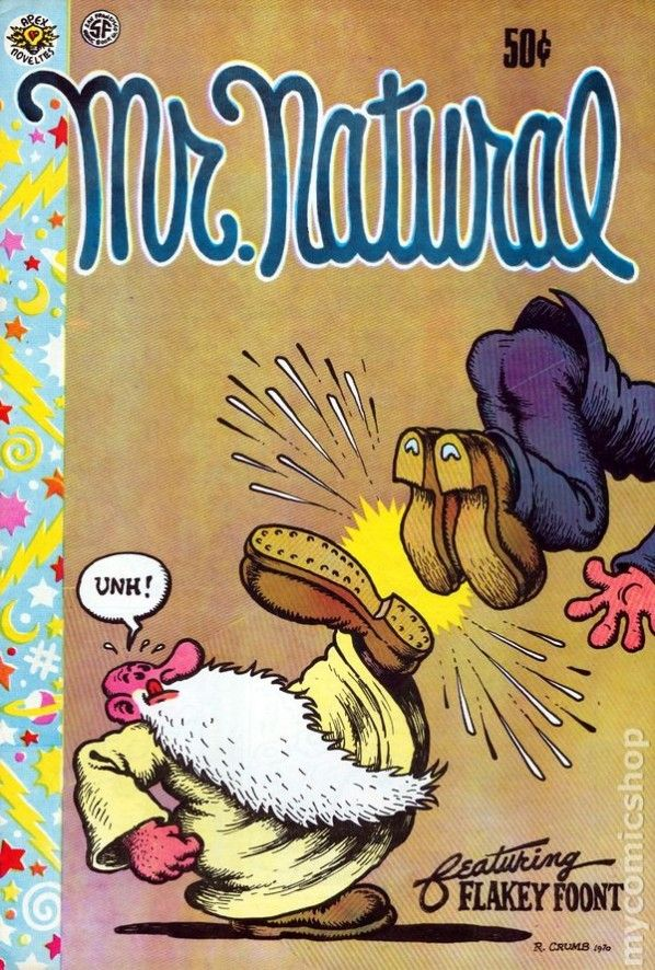 R Crumb S Mr Natural Robert Crumb Graphic Book Underground Comic