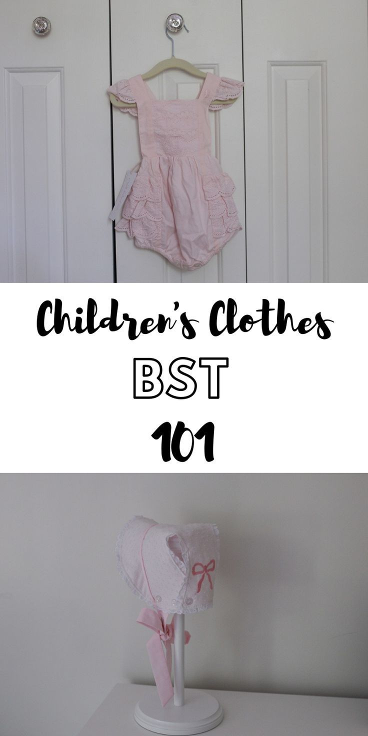 Buying, Selling, and Trading Children's Clothes 101 in