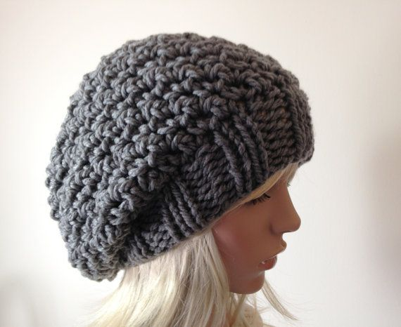 Instant Download Knitting Pattern Knit Hat Pattern Crocheted