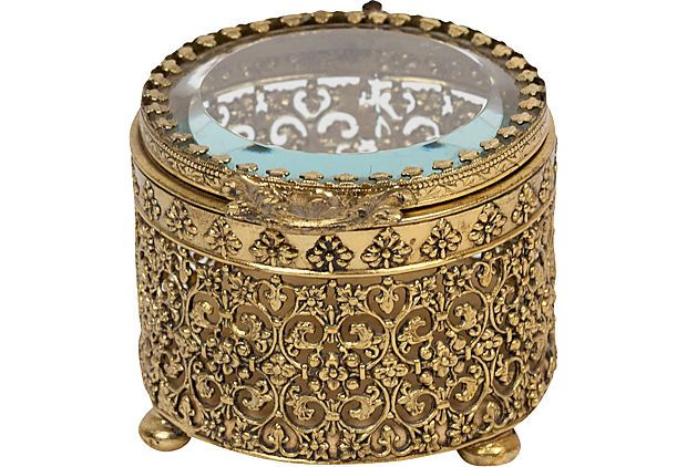 Antique French Ring Box (1910-1950)