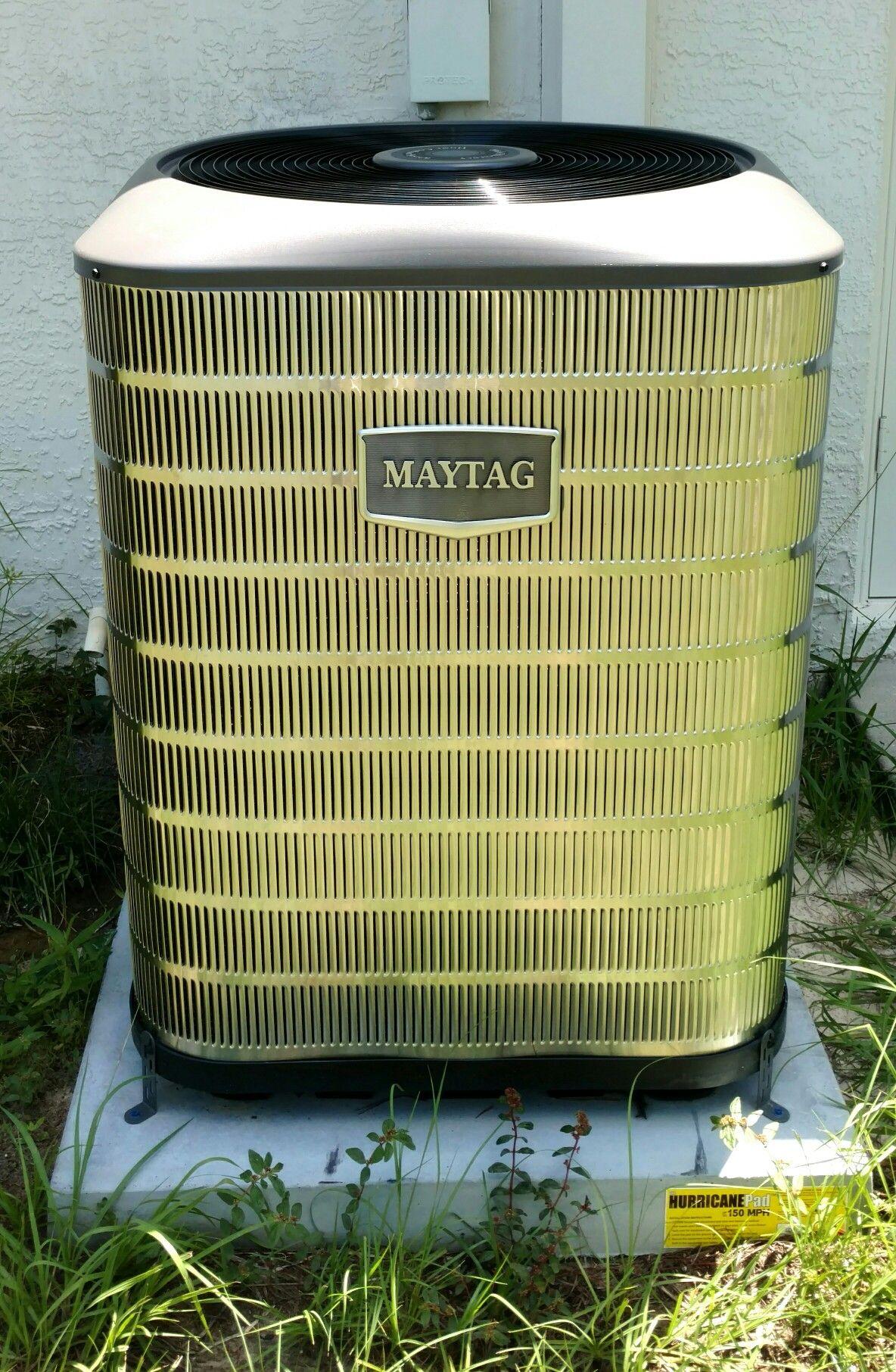 Maytag 15 seer Heat Pump split system installed by Beacon