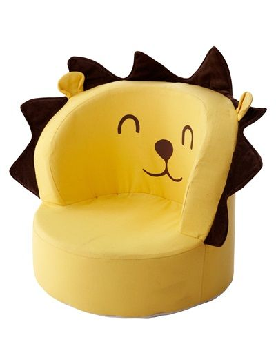 Fauteuil jungle b b th me jungle party jaune vertbaudet - Fauteuil enfant jungle ...
