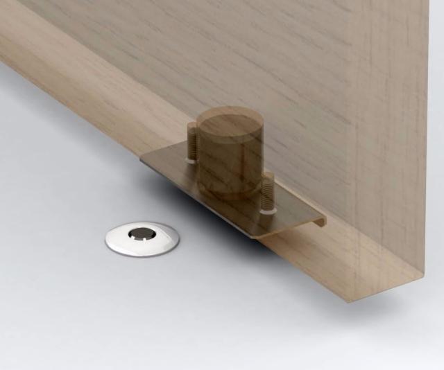 Minimalist Magnetic Doorstop Door Stopper Hinges Diy Door Stop