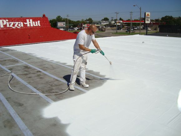 Uniflex Systems Are A Perfect Commercial Roofing Solution Foam Roofing Roofing Commercial Roofing