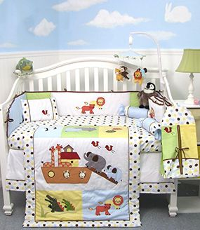 Baby Noahs Ark Nursery Theme Decorating Ideas Bedding And Decor Decoracion Habitacion Nino Cuarto De Bebe Cosas Para Bebe