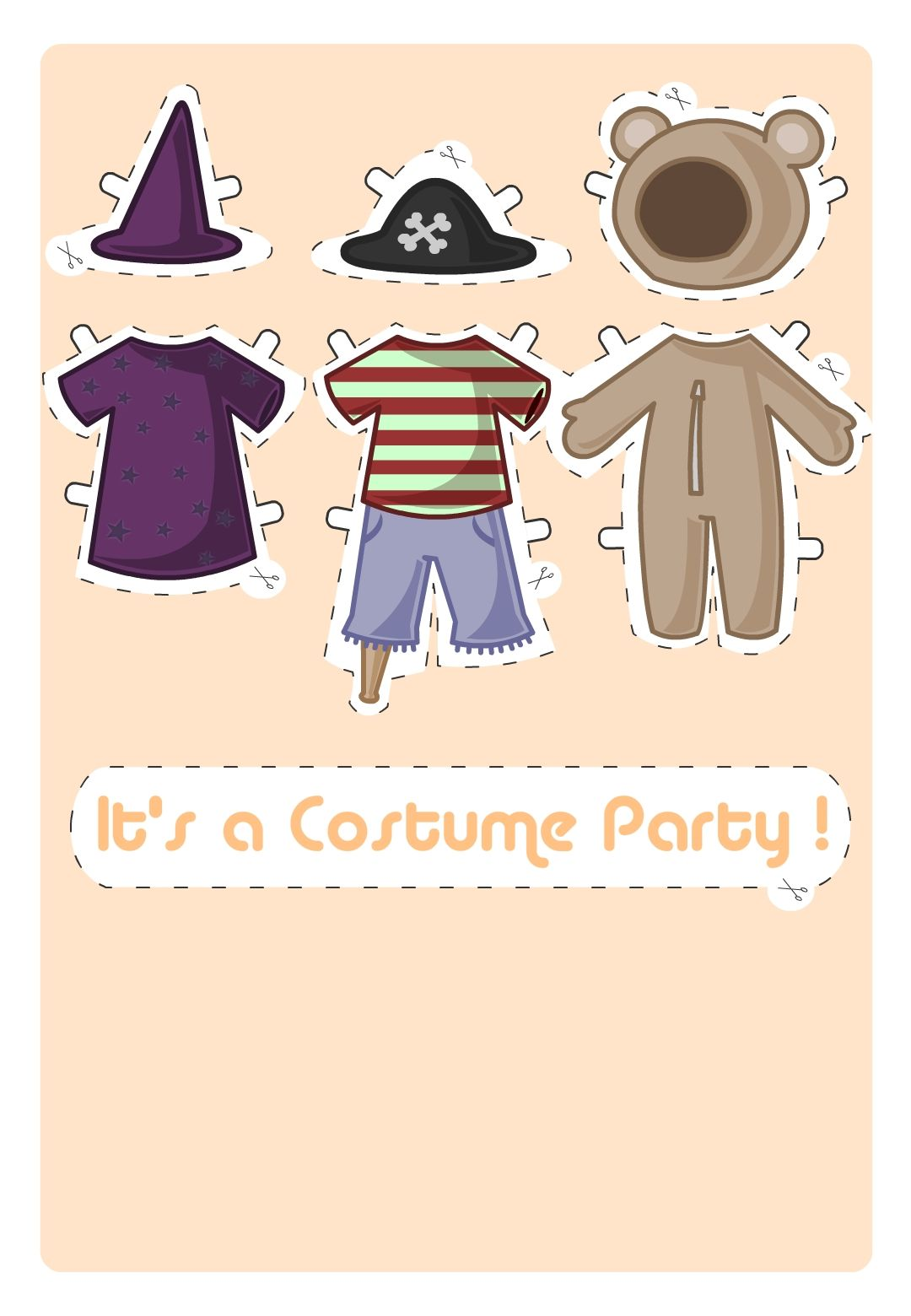 Costume Party - Free Printable Halloween Invitation Template ...