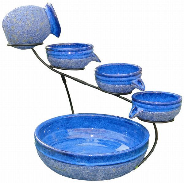 Blueberry Cascade Solar Fountain Solar Fountain Diy Solar Fountain Solar Water Fountain