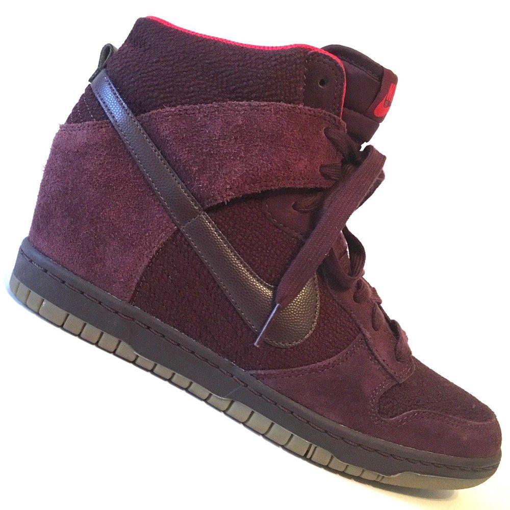 NIKE Dunk Sky Hi Essential Sneaker Boot High Top Wedge