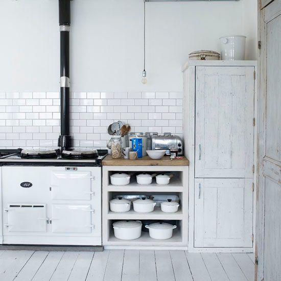 Open Kitchen Shelves Base Cabinet For