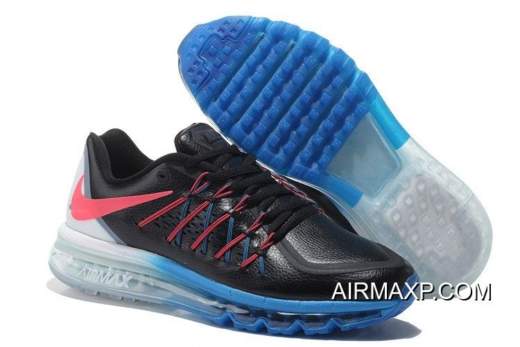 cheap for discount e00d2 c174b Nike Air Max 2015 Men Black White Red Running Shoes Latest, Price   73.53 -  Discount AirMax Shoes Online Store