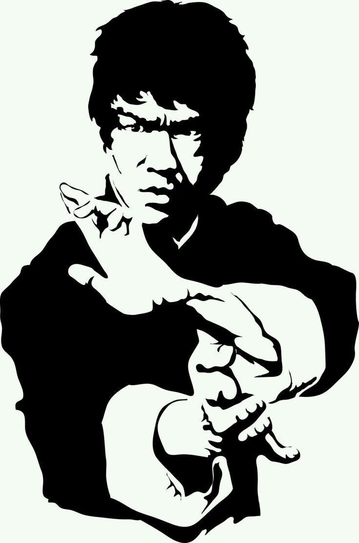Bruce Lee Bruce Lee Art Silhouette Art Bruce Lee Pictures