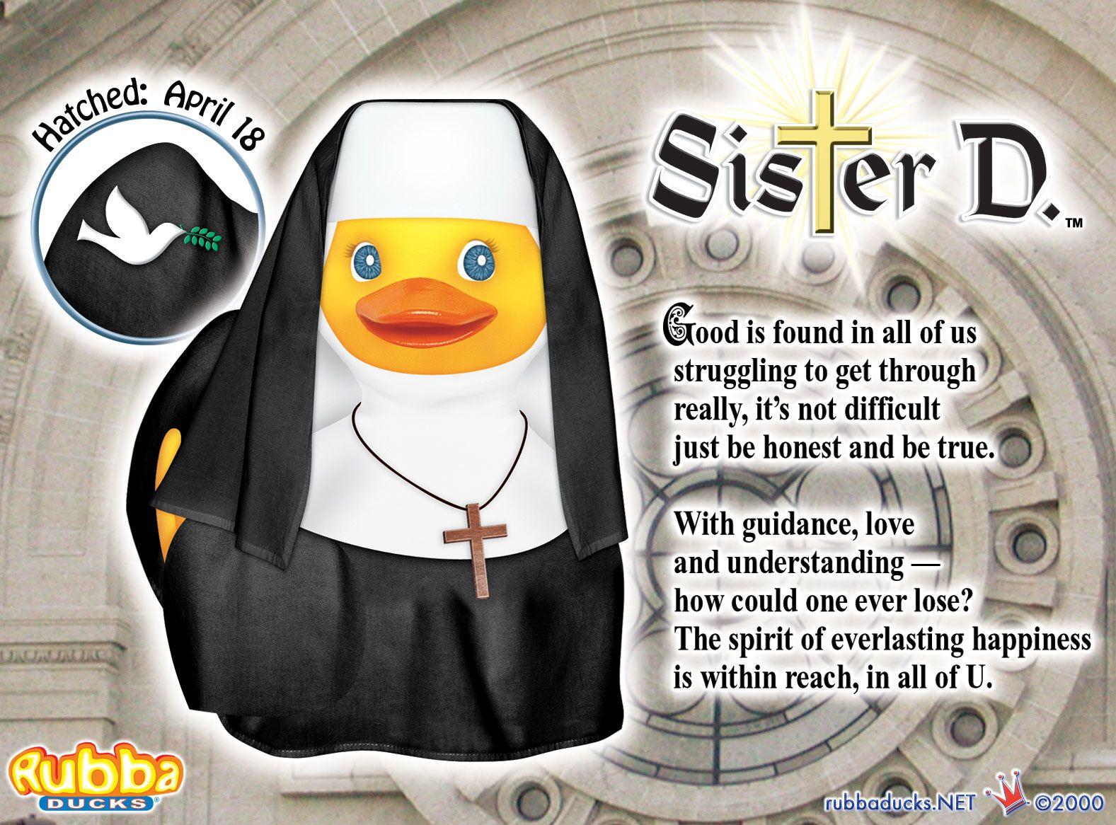 """Bless U"" Sister D."