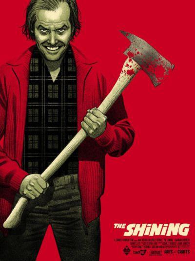 El Resplandor 1980 Stanley Kubrick Poster Alternativo De Greg Smallwood Horror Movie Art Classic Horror Movies Horror Posters