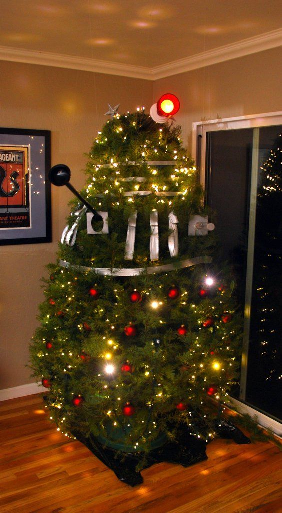 Dalek Christmas Tree - Dalek Christmas Tree Whovian Pinterest Doctor Who, Dalek And