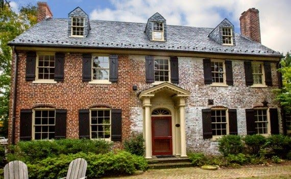 Fairy Tale Living The Storybook Style House Colonial House Exteriors Brick Exterior House Brick House Exterior Makeover