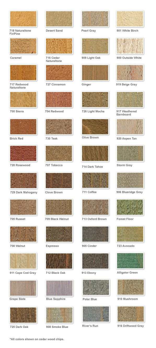 Pin On Deck Stain Colors