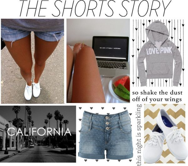 """The Shorts Story"" by coolchickcarol ❤ liked on Polyvore"